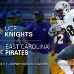 .@UCF_Football opens up @American_Conf play with the road win over @ECUPiratesFB https://t.co/rmSl6pDFYx