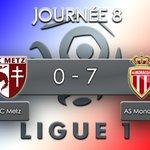 #Ligue1 | #FCMASM Monaco a littéralement assommé le FC Metz ! https://t.co/yXkYaJS9wb