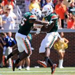 Three plays ➡️ Two defensive TDs No. 14 Miami was on one today https://t.co/VAEwSGrK30 https://t.co/FD3v8rhEpD