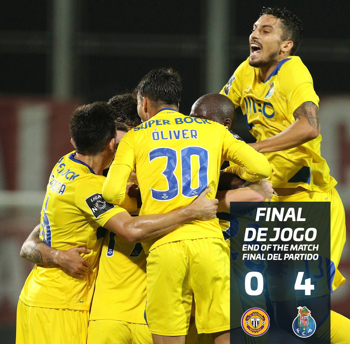 Arouca 0:4 FC Porto