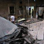 Barris explosivos atingem hospital em bairro rebelde de Aleppo, na Síria