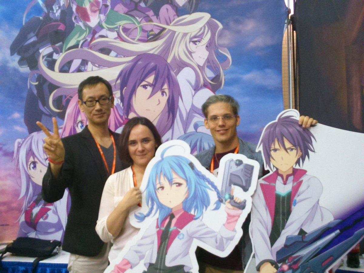 【Anime Weekend Atlanta】学戦都市アスタリスクのパネル終了!1,2話英語版を吹き替えキャストさんと一