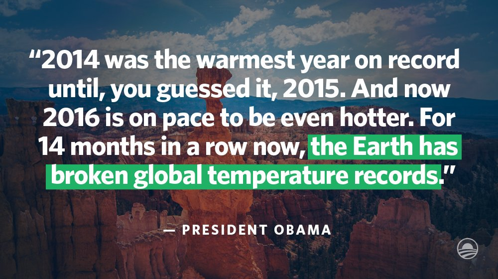 RT @ClimateReality: We're starting to sounds like a broken record, but we keep breaking records #ActOnClimate https://t.co/1U3Pj0qugd