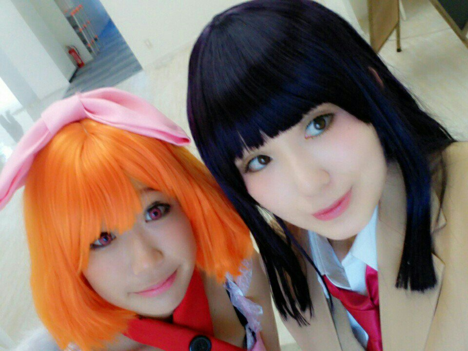 咲さんと妹ちょ。してきた〜!日和かわいい〜!