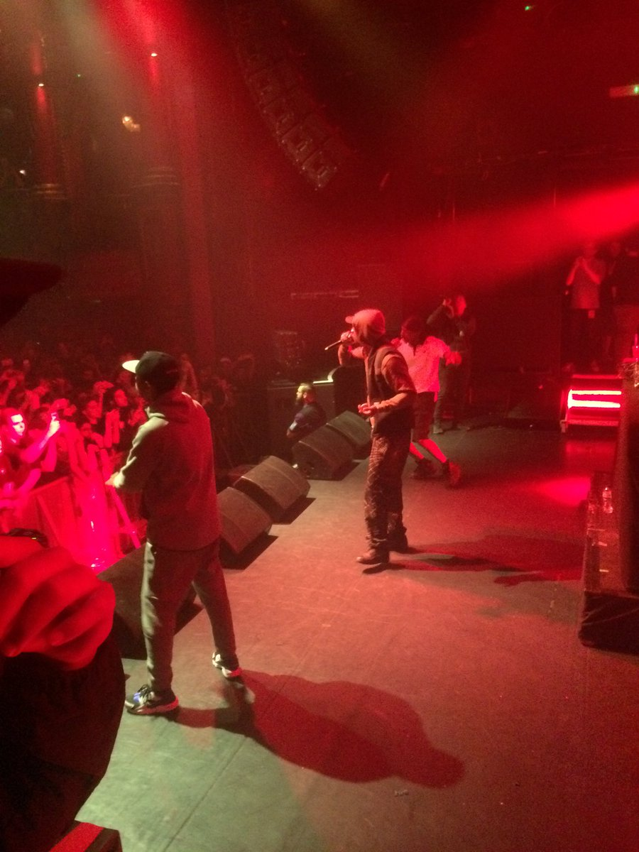 Wiley skepta and jme at koko