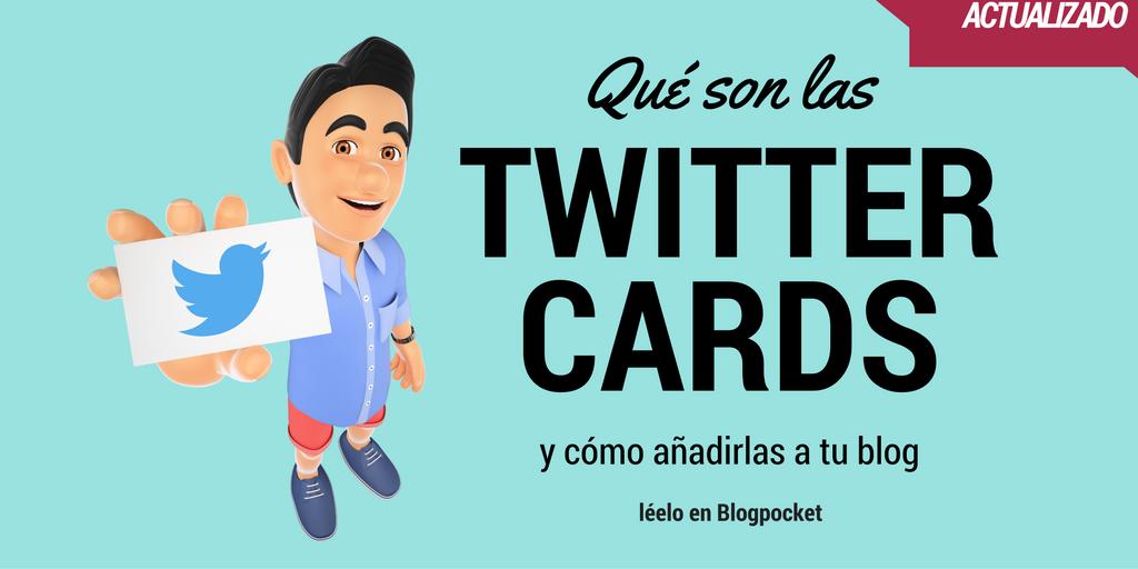 Qué son las Twitter Cards y cómo añadirlas a tu blog https://t.co/RoTaPv2lCe #Twitter #CommunityManager https://t.co/1dNxEcGibb