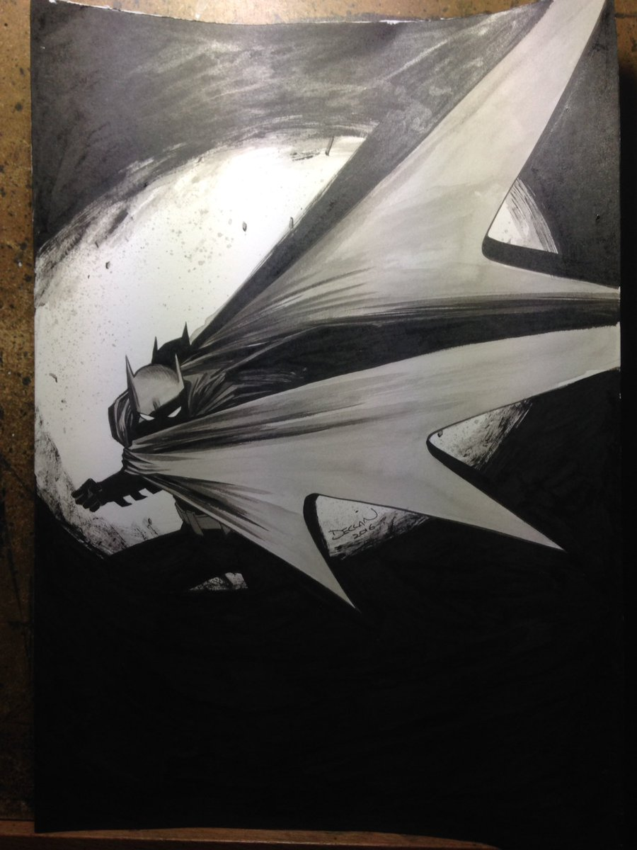 BATMAN pre-commission for NYCC https://t.co/FFVl8Ygcrl