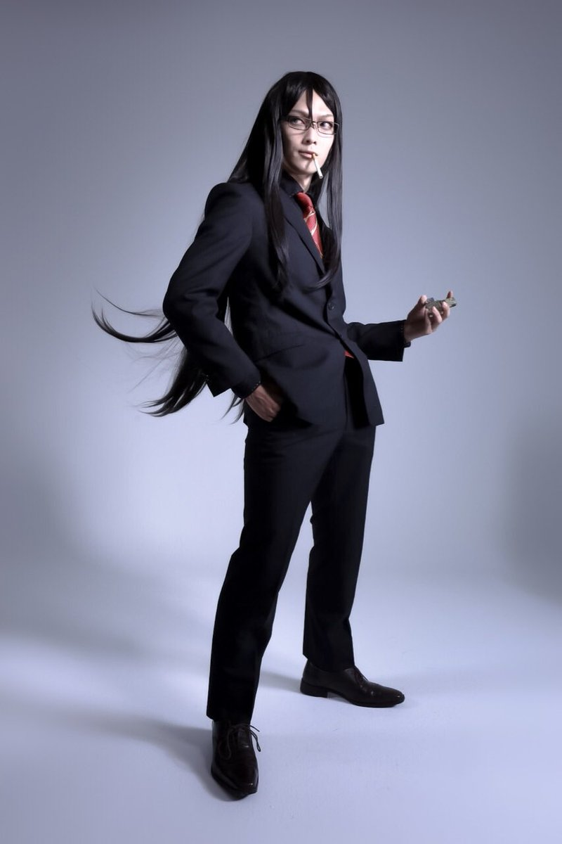 【fate grandorder/ 諸葛孔明】  マスターに髪なびかせてもらって撮れたくそかっちょいい ショット!   #スイカルデア #うしコス photo: @sirotee25 https://t.co/Gr5RtdOrsU