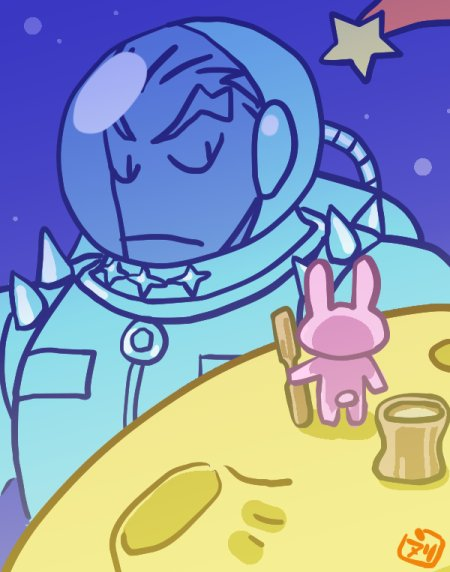 最近マチェーテキルズの次回予告とかルル子EDとかクロムクロEDとかミキタカ登場などで宇宙づいていたので何かスケールのでか