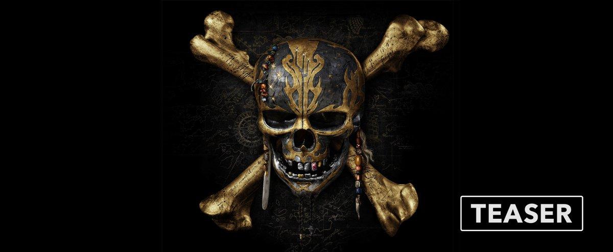 Teaser Trailer: Pirates of the Caribbean: Dead Men Tell No Tales. @Wandia_ #APiratesDeathForMe https://t.co/nrrMQAigwB