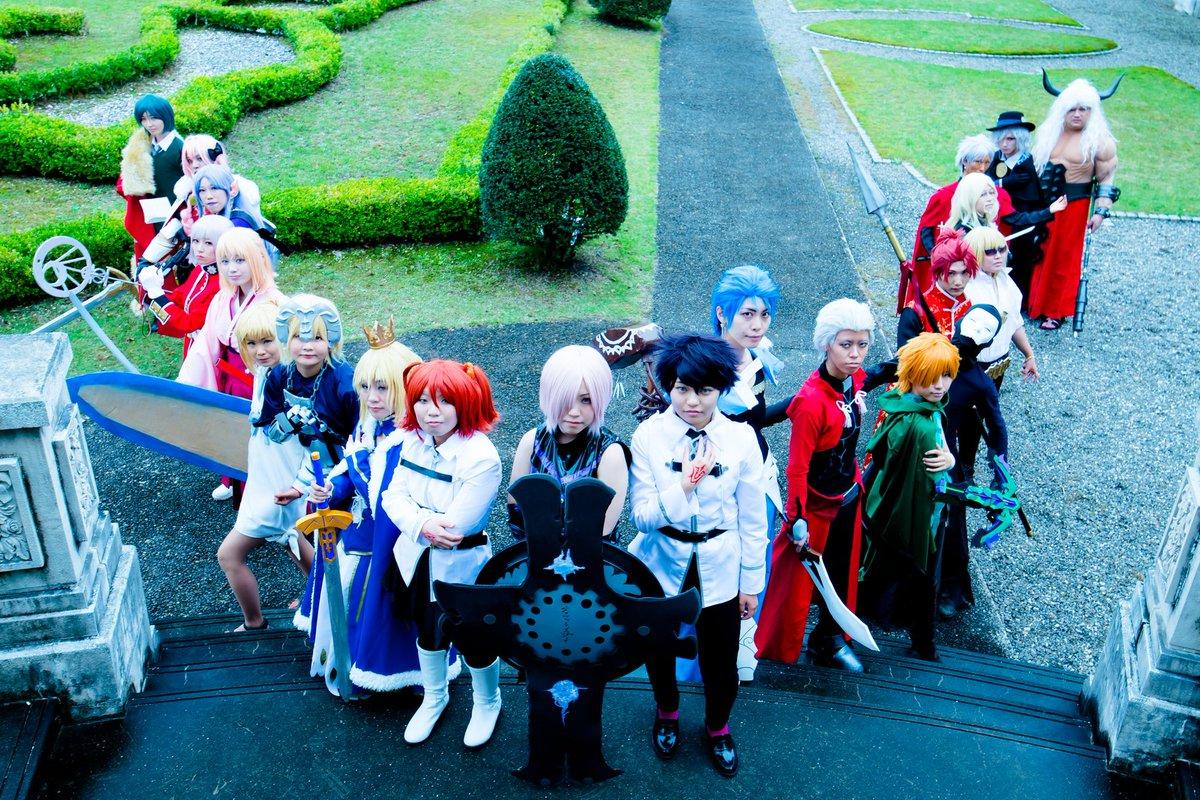 @1101_reo: [Fate Grand Order ]人理を守るため集いし一騎当千の英雄達。それを率いるは年端も行