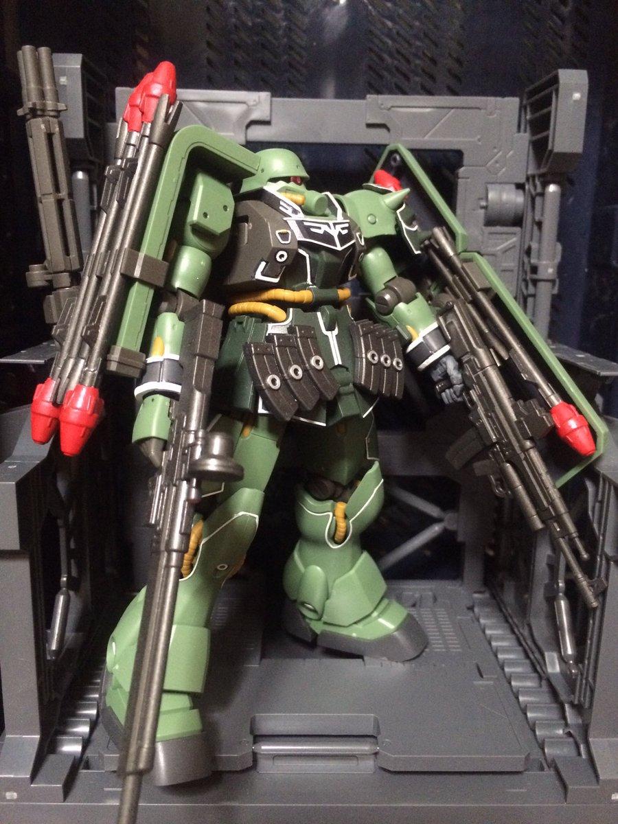 ✅ネオ・ジオン(袖付き)✳️AMS-129ギラ・ズールフロンタル親衛隊仕様(キュアロン中尉専用機)#g_uc#ガンプラは
