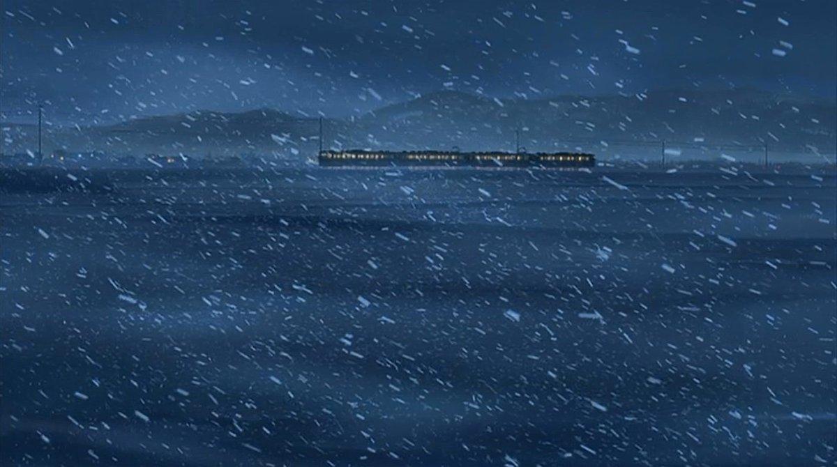 """今さらで恐縮ですが、新海監督の「秒速5センチメートル」第一話「桜花抄」、""""岩舟""""の世界の果て感がハンパないんだけど、東京"""