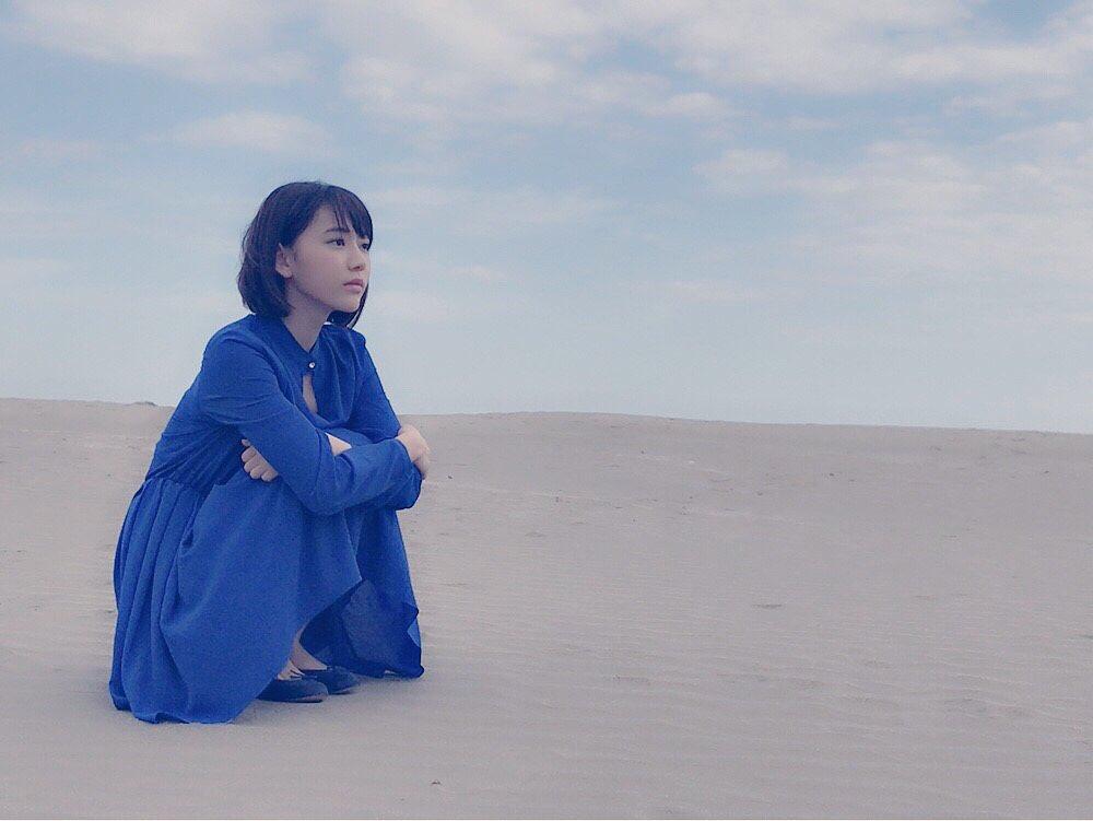 昨日「ヤングジャンプ」の撮影で千葉の九十九里浜へ   砂浜と空。綺麗だったよ。