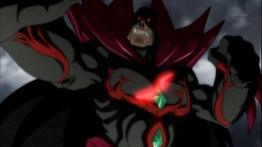 モンスーノ化したクリプス博士(妄想)の胸の傷が赤く光っていたのは既に確認出来たけど、よく見たらジョンスーノも頭の傷が発光