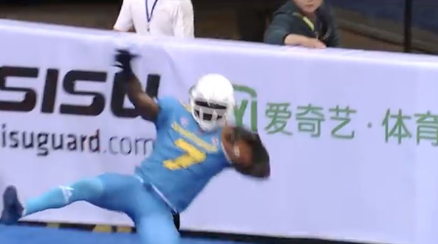 The Chinese Arena Football League Has Better TD Celebrations Than the NFL