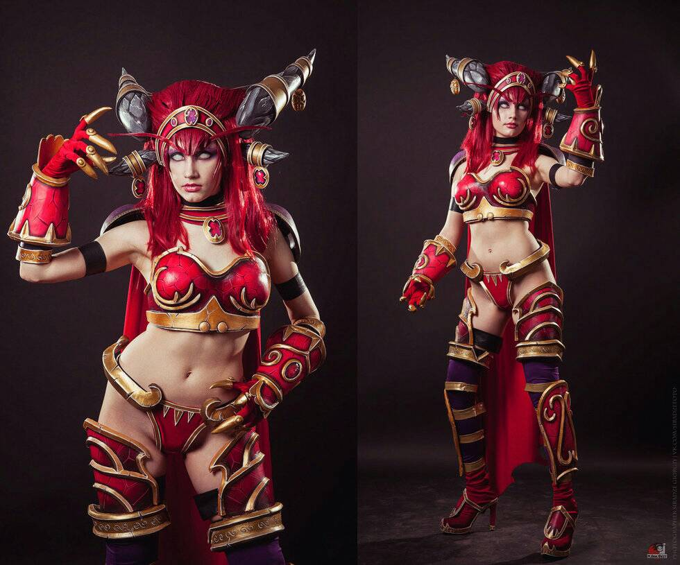 Alexstrasza gagged sexy images