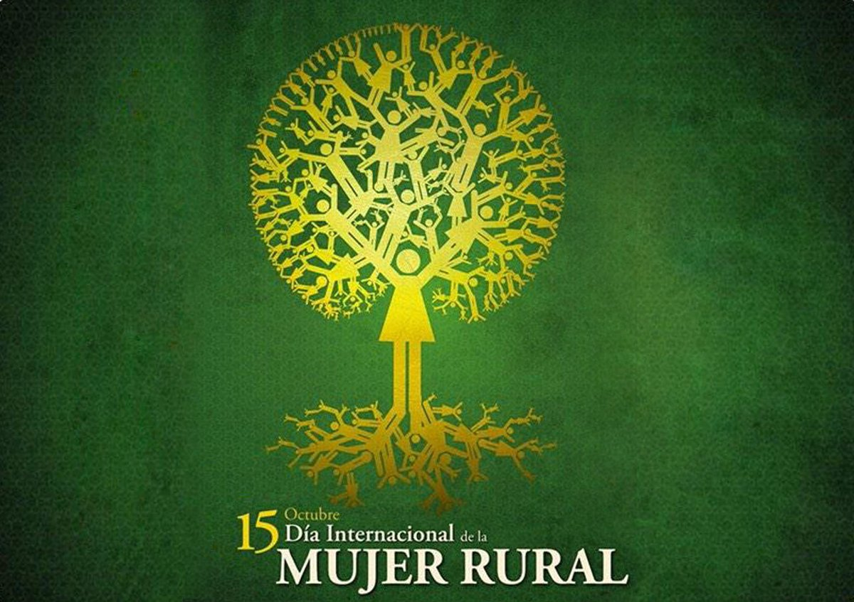 Hoy es el Día Internacional de las Mujeres Rurales, proclamado por  las Naciones Unidas. https://t.co/hRvbskzvcn