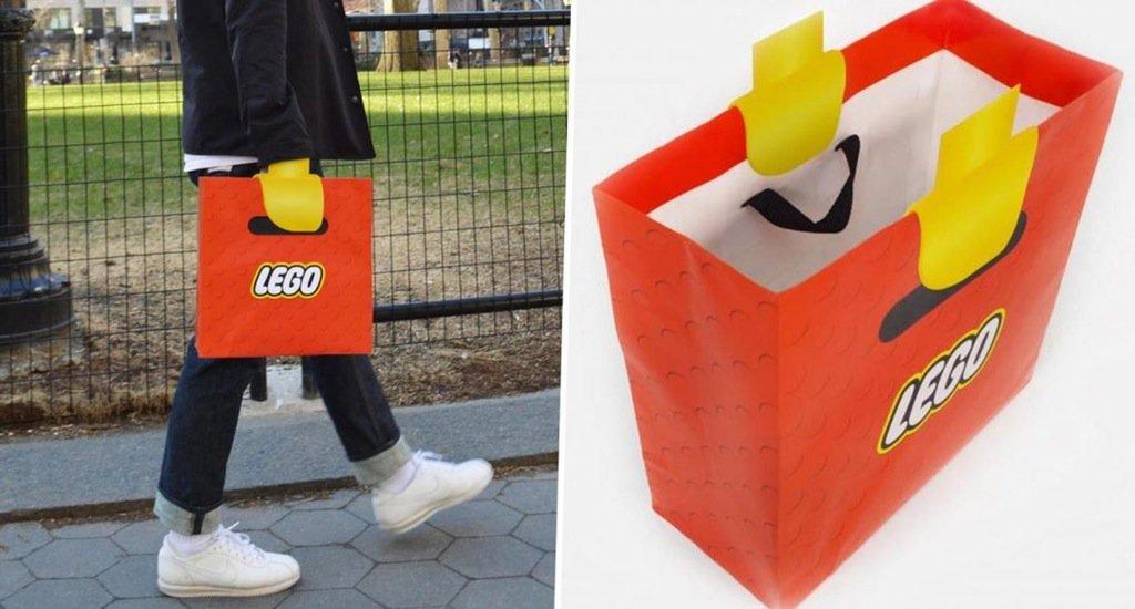 LEGOのショッピングバッグ、最高すぎる https://t.co/C5k7P6UFPW