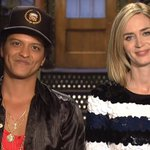 Emily Blunt and Bruno Mars are ready for #SNL and if you don't believe them, just watch: https://t.co/0pcXYLG0Cq https://t.co/RO8aDS6Rg9