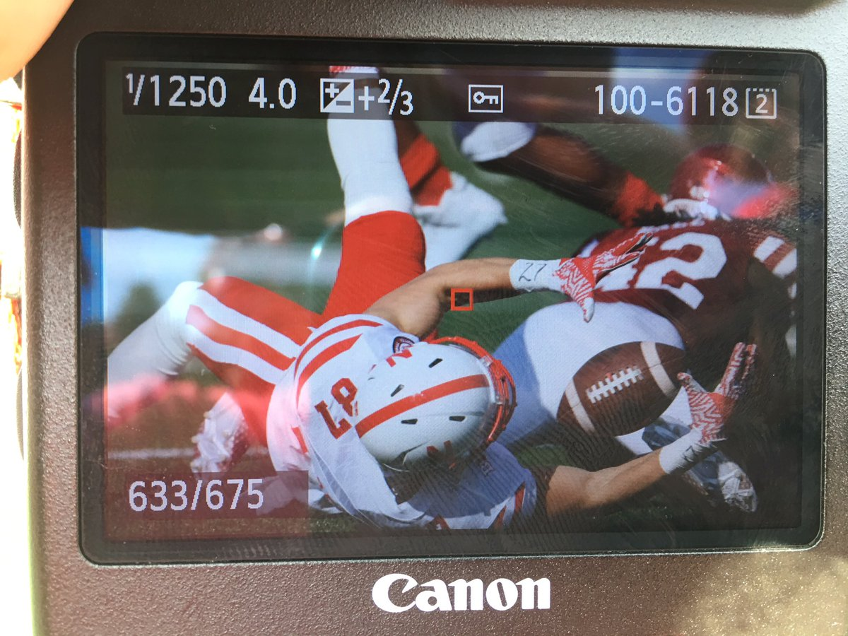 What a catch by @brandonreilly87 #Huskers https://t.co/0tXDBGYx8H