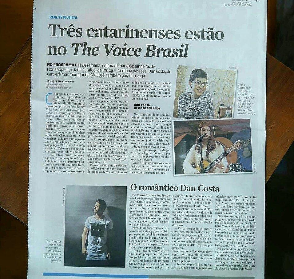 #Thevoicebrasil: Thevoicebrasil
