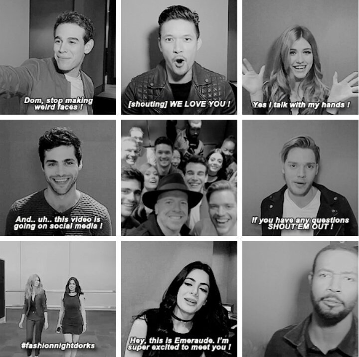 THANK YOU FOR SHADOWHUNTERS