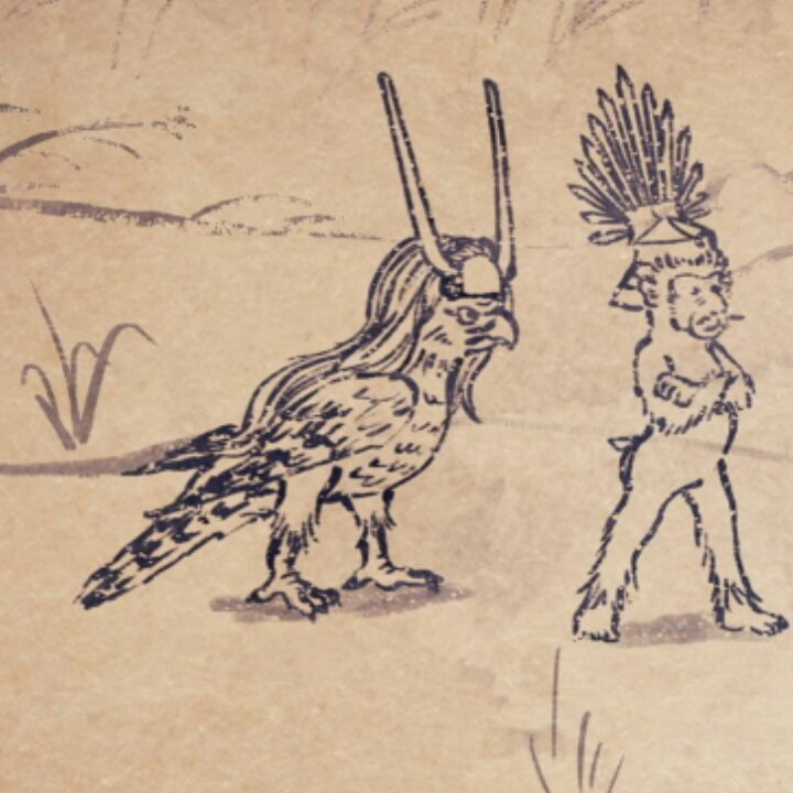 こんな殿も見つけました!#戦国鳥獣戯画