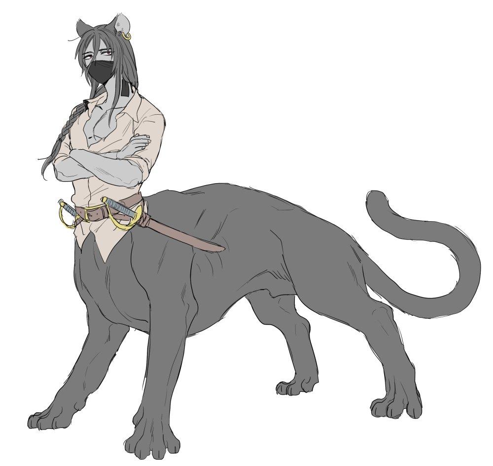 【エウシ】レヴィアタンの船員。小さい頃からずっと奴隷生活をしていたが、あることをきっかけに海賊の一員となる。黒豹・タウル