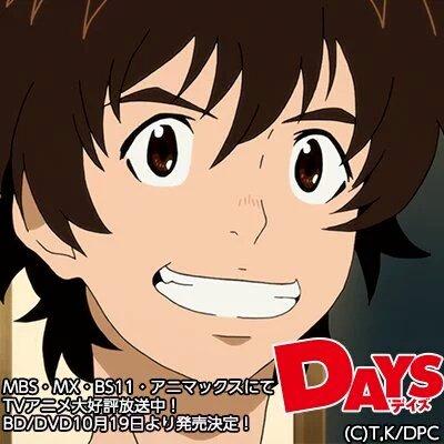 灰原先輩かっこよかった💕可愛いとか言ったら怒られるかな(><)#days_anime