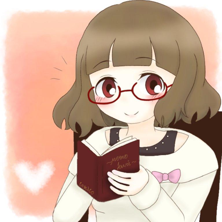 ももくりのゆきちゃん♡読書の秋!#comico秋のお絵かき大会