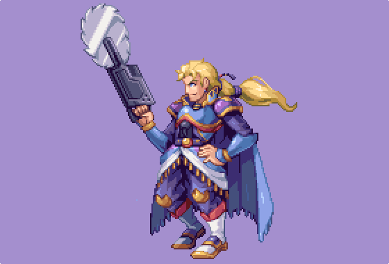 I'll be doing more FF6 sprites, this time Edgar #pixelart https://t.co/Hu80uLOMVW