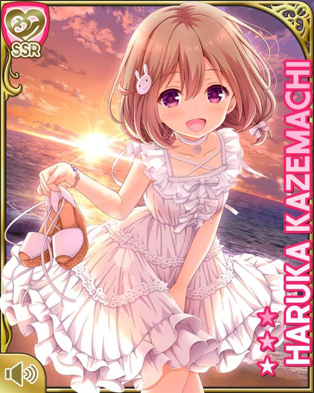 #gf_kari  #ガールフレンド : [サンセットビーチで]風町陽歌といっしょに白ワンピースを楽しみ隊です♪