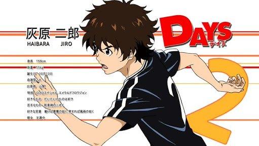 灰原先輩、彼女と文通中ってくそかわいくない?#days_anime