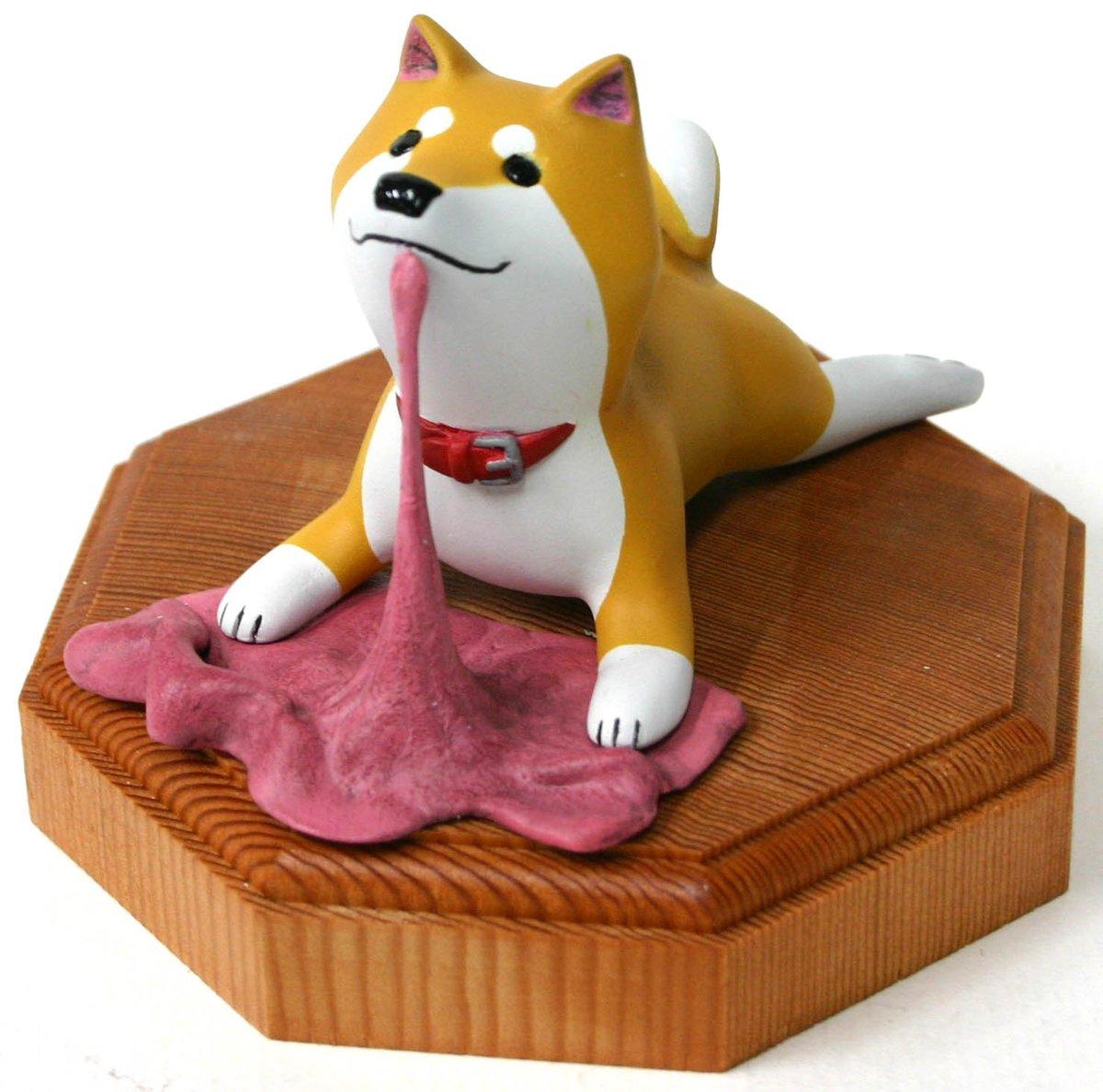 「いとしのムーコ」(ちびキノコ様作)です♪ 石粉粘土でできてます! 少しの間展示中~☆