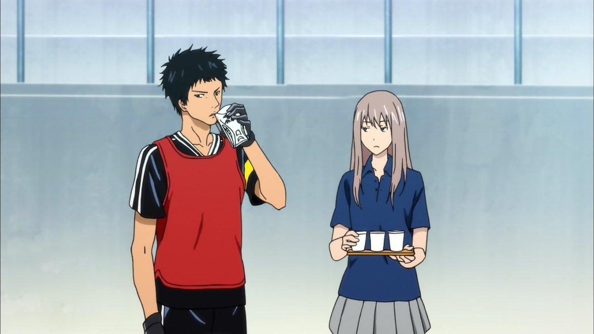 脛当てとコップなぜ間違えた!?wやっぱ水城先輩好きだわ~w#days_anime #水城先輩