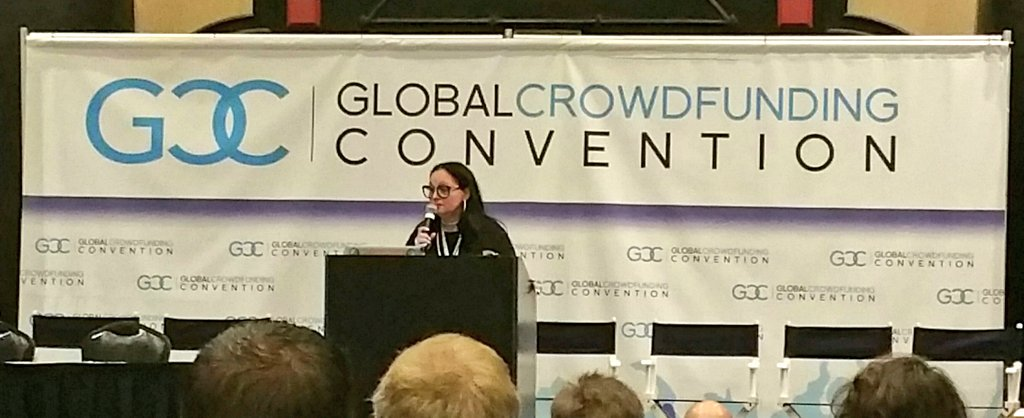 Excited to be speaking today and tomorrow at the Global #Crowdfunding Convention. @CommandPartners  #TheGCCWorld https://t.co/Xe9B22ioX5