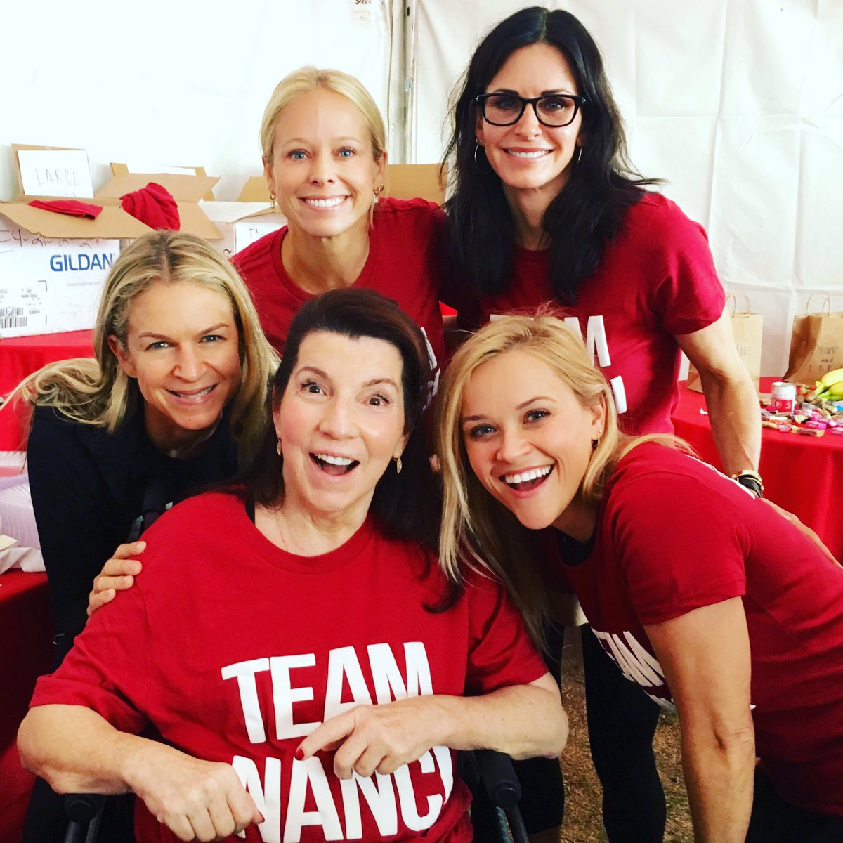 So proud to walk today in support of our amazing friend, Nanci! #TeamNanci https://t.co/tmqKKMS63N