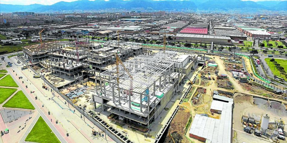 Bogot tendr otro nuevo centro comercial en 2017 for Construccion de modulos comerciales