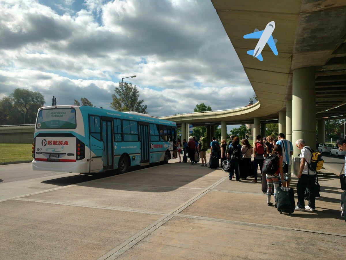 Para los que decían que la gente no usa el #Aerobus en Córdoba