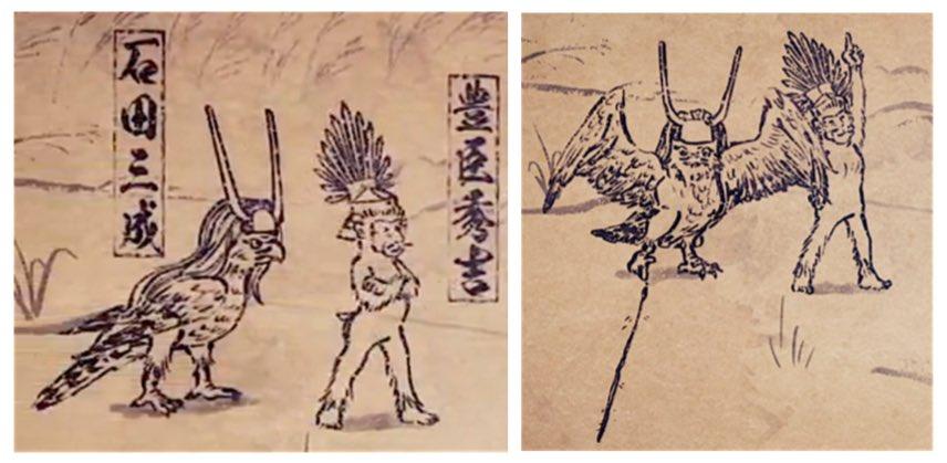 石田三成(CV : 滝口幸広)#戦国鳥獣戯画