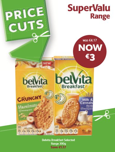 Price cuts on breakfast biscuits https://t.co/jqR8Fi1Ycc