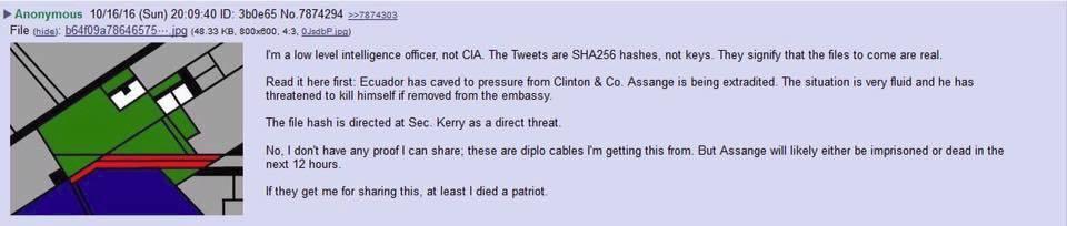 Anonymous Tweet reveals desired fate of Assange @wikileaks #prayforassange https://t.co/GeZiOtou9Q