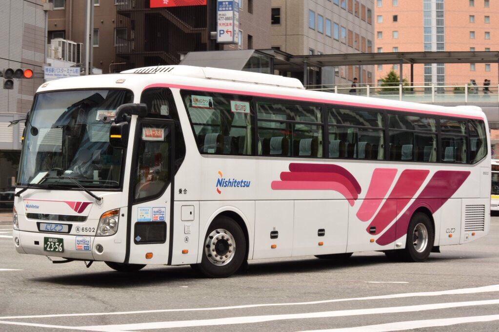 西日本鉄道 福岡高速6502(福岡200か2356)RDG-RD00(2011年式) 現代自動車 ユニバース