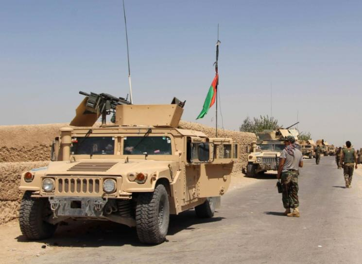 Afghan troops blunt Taliban offensive outside Helmand capital, officials say
