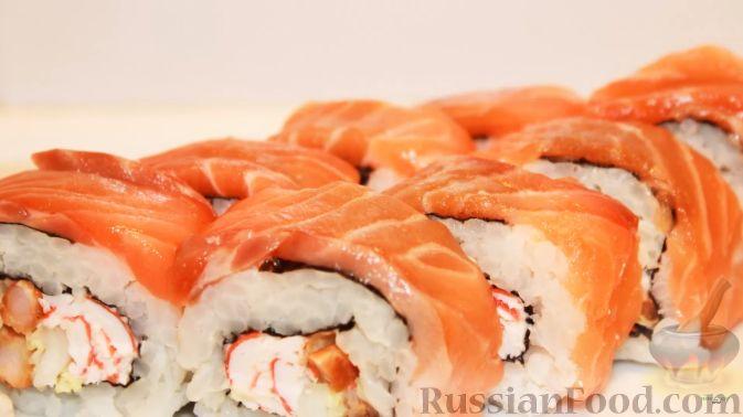 Роллы без рыбы рецепты с фото