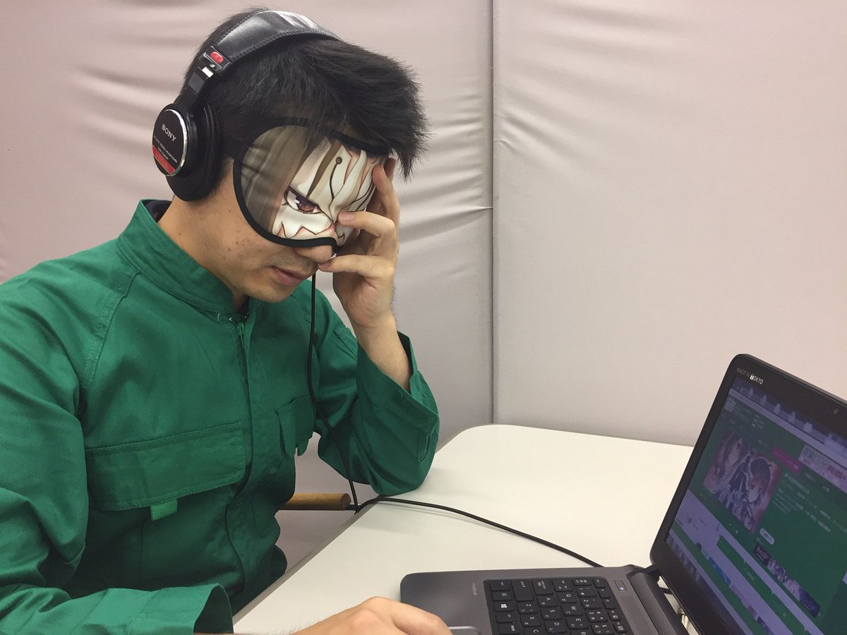 「煌うたわれるものらじお」アクルカ風アイマスクが好評発売中!オシュトル側を付けてラジオを聴けば根源への扉が開かれる!?そ