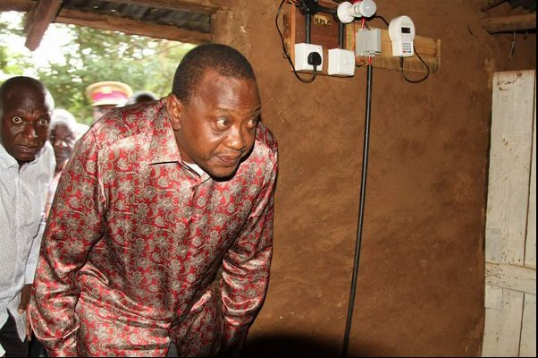 President Uhuru Kenyatta and his cabinet secretary, Charles Keter, where the subjects of the first #UhuruChallenge in October 2016