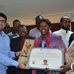 Linah Kilimo bags another award for her fight against the FGM.