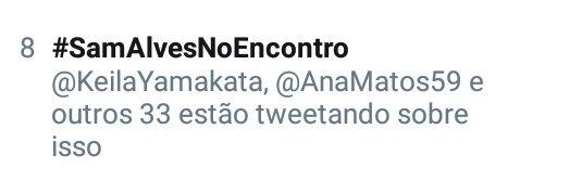 #SamAlvesNoEncontro: Sam Alves No Encontro